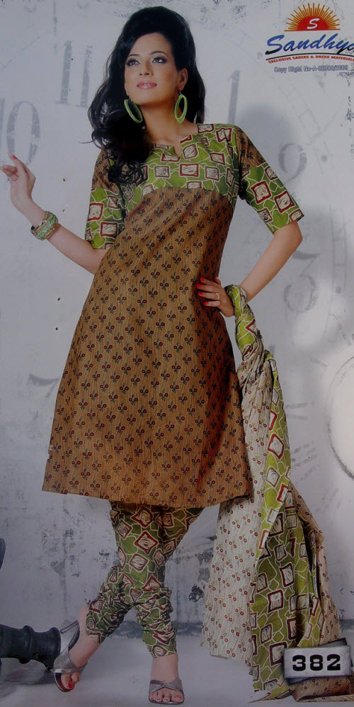 Designer Cotton Printed Suit Un-stitched 10394