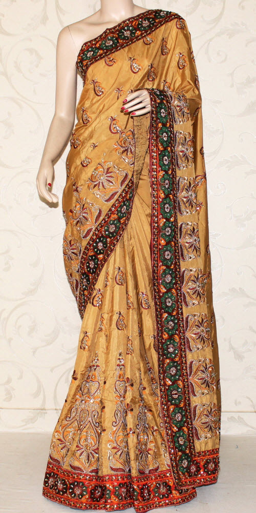Exclusive Embroidered Saree 10658
