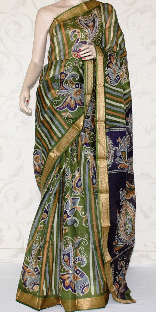 Designer Pure Silk Printed Saree 10844