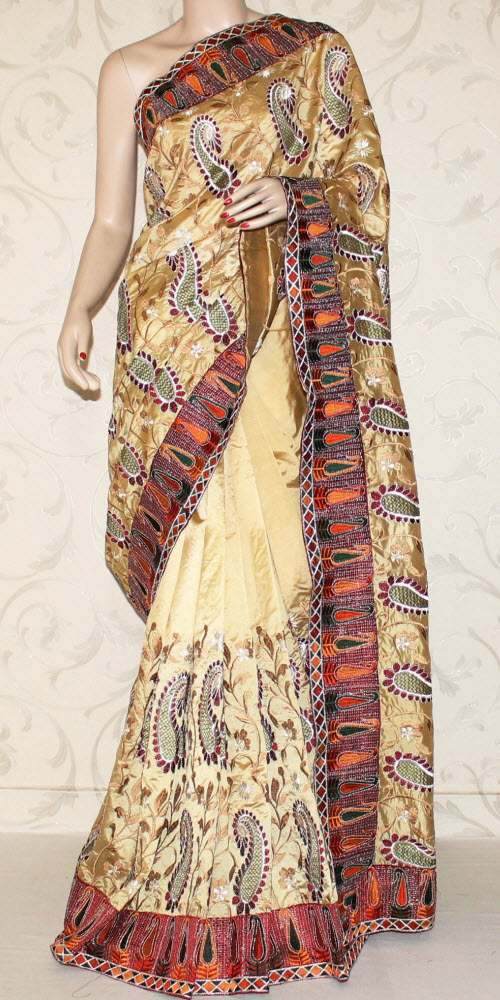 Exclusive Embroidered Saree 10854