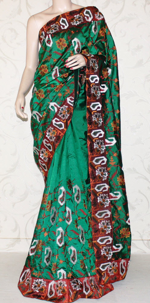 Exclusive Embroidered Saree 10856