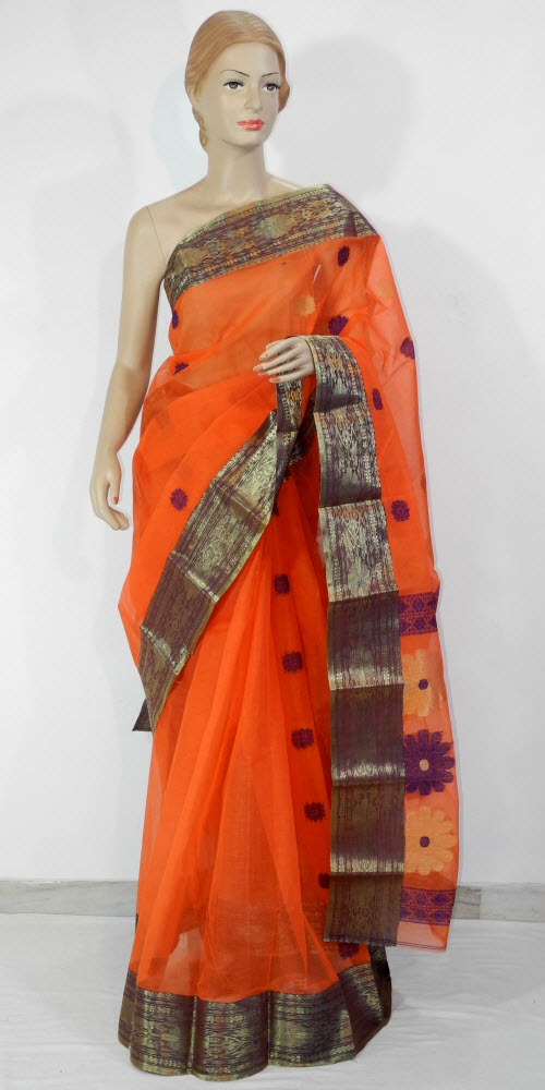 Bengal Handloom Tant Saree (Cotton) 10926