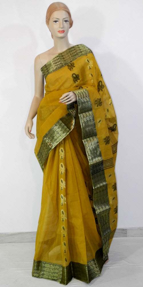Bengal Handloom Tant Saree (Cotton) 10976