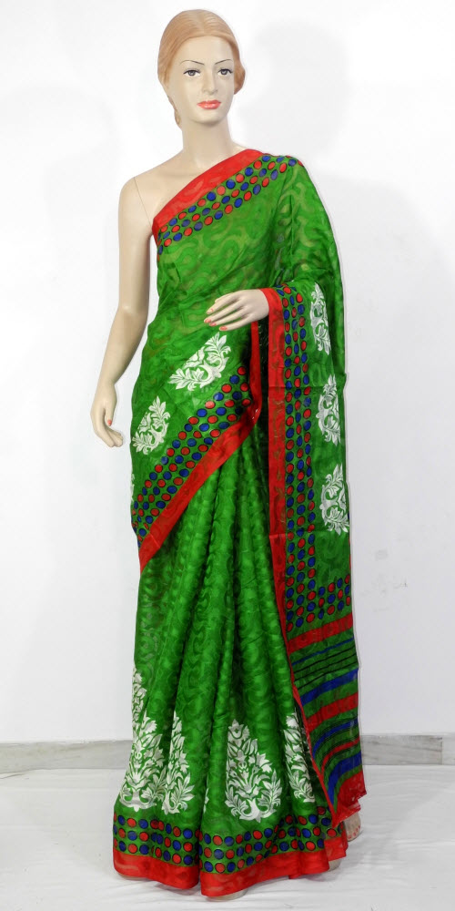 Exclusive Brasso Art Silk Saree 11278