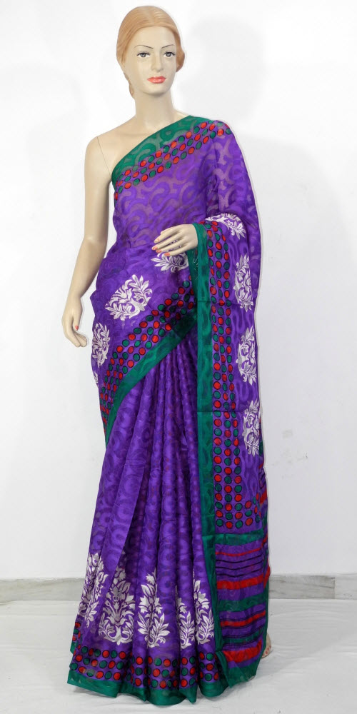 Exclusive Brasso Art Silk Saree 11279
