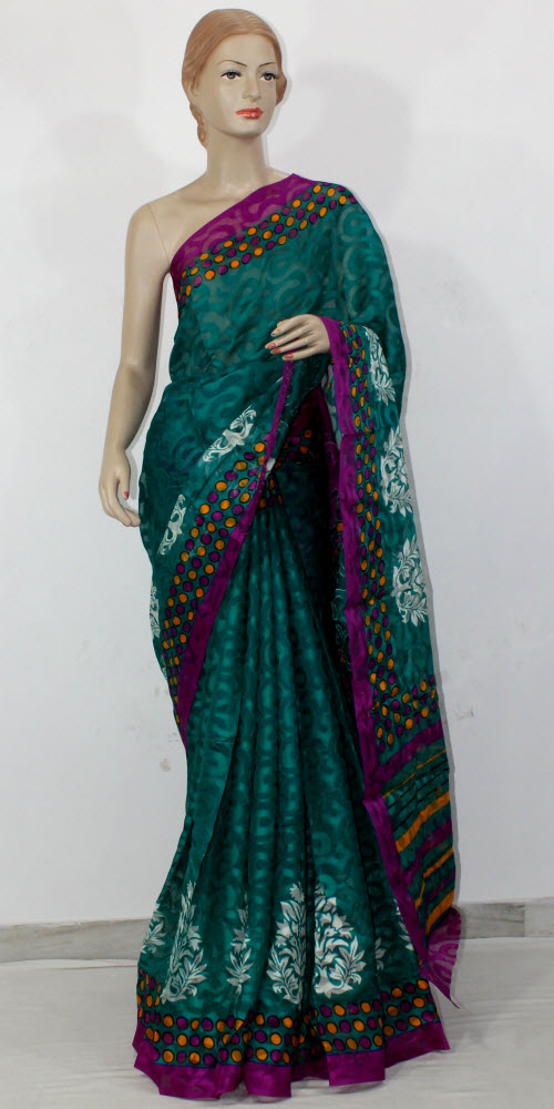 Exclusive Brasso Art Silk Saree 11281
