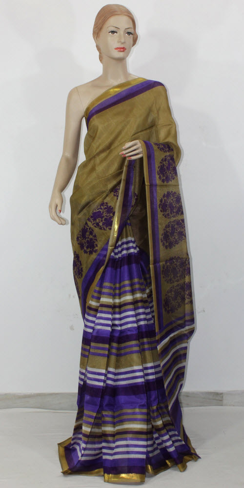 Exclusive Manipuri Check (Half-Half) Saree 11314