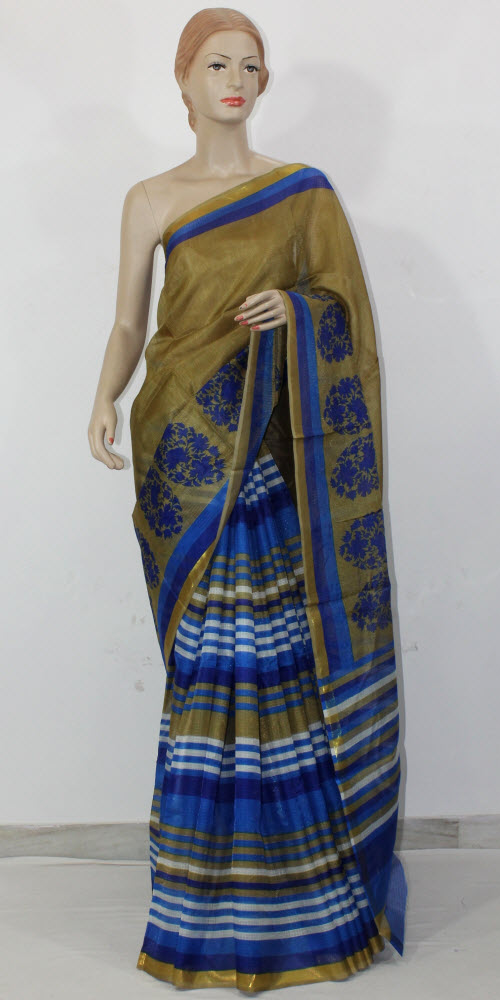 Exclusive Manipuri Check (Half-Half) Saree 11315