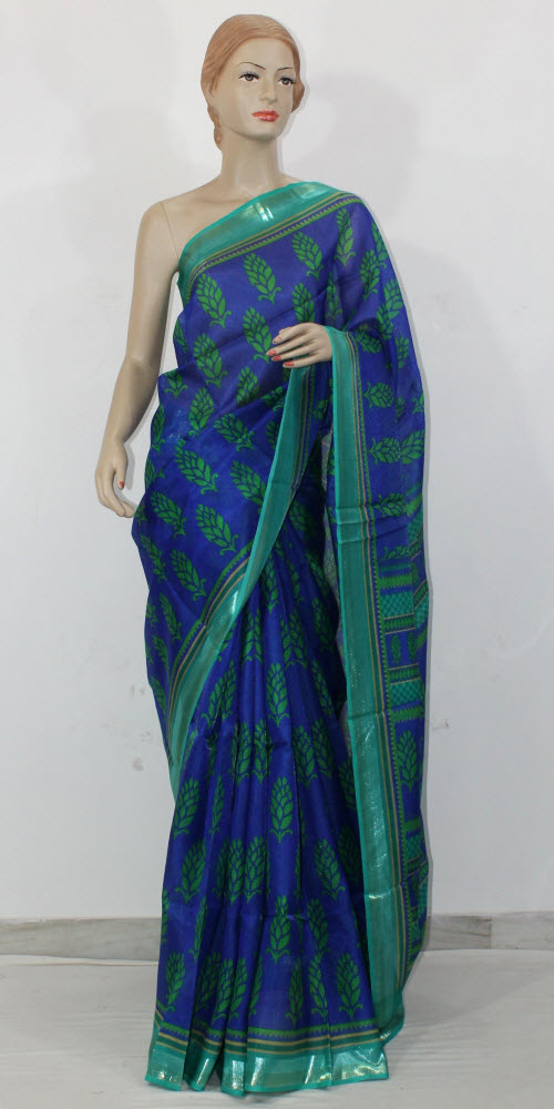 Exclusive Manipuri Check Printed Saree 11328