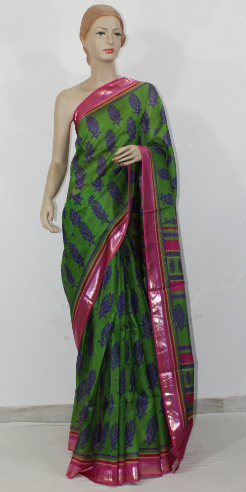 Exclusive Manipuri Check Printed Saree 11330