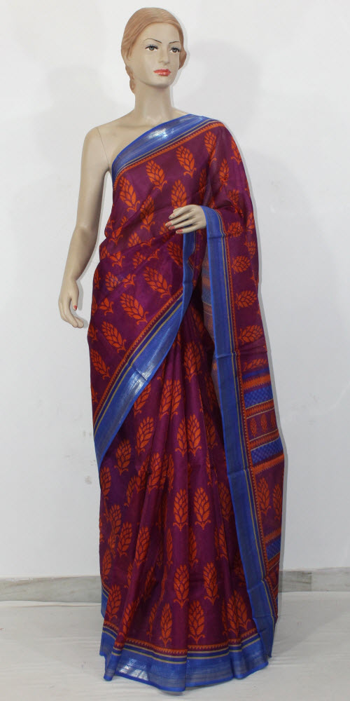 Exclusive Manipuri Check Printed Saree 11331