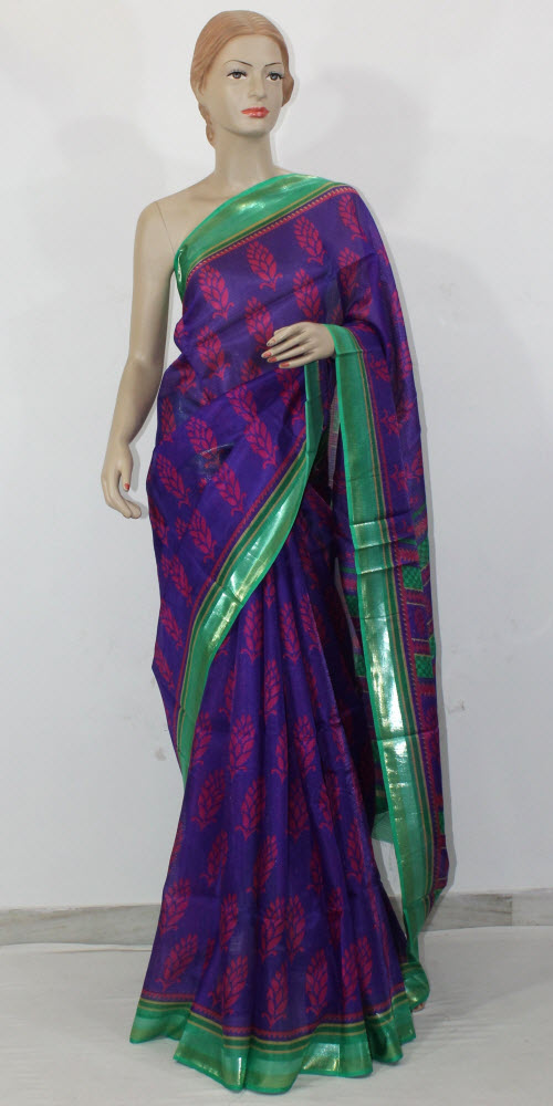 Exclusive Manipuri Check Printed Saree 11333