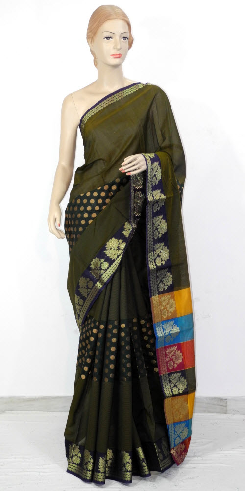 Kanchi Pattu Art Silk Saree 11368