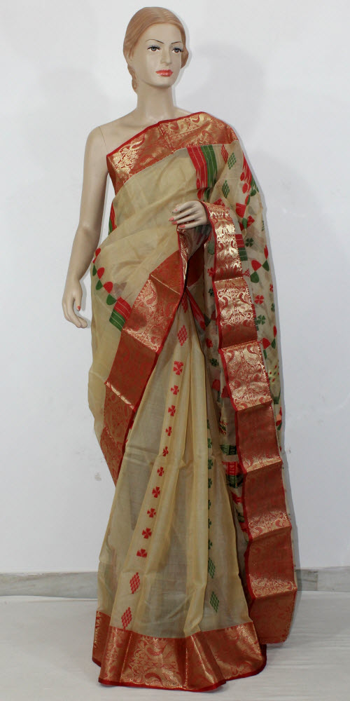 Bengal Handloom Tant Saree (Cotton) 11523
