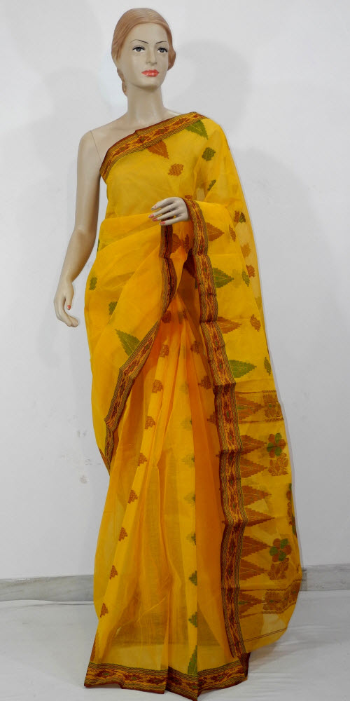 Bengal Handloom Tant Saree (Cotton) 11585