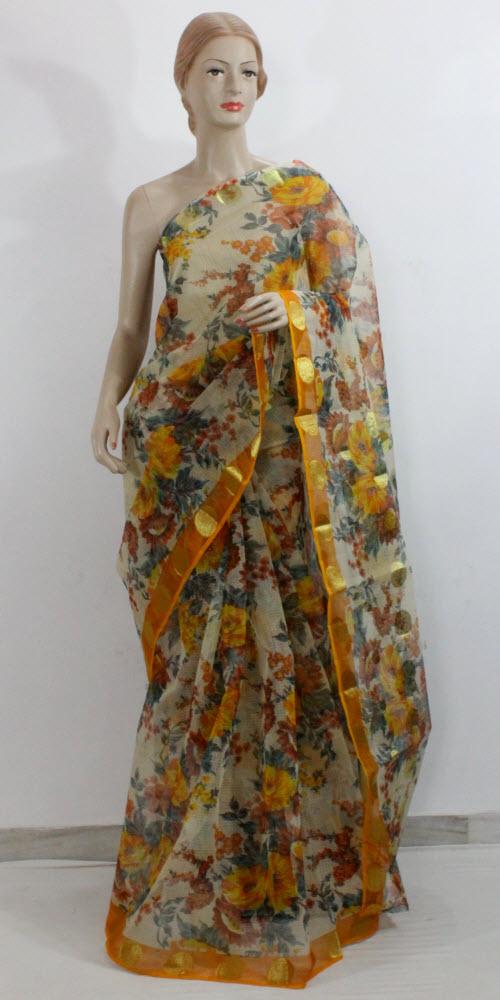 buy printed kota sarees online pure printed kota sarees. Black Bedroom Furniture Sets. Home Design Ideas