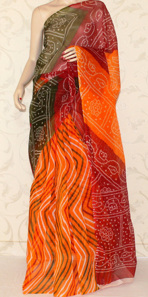 Exclusive Supernet Saree (Printed) 11883