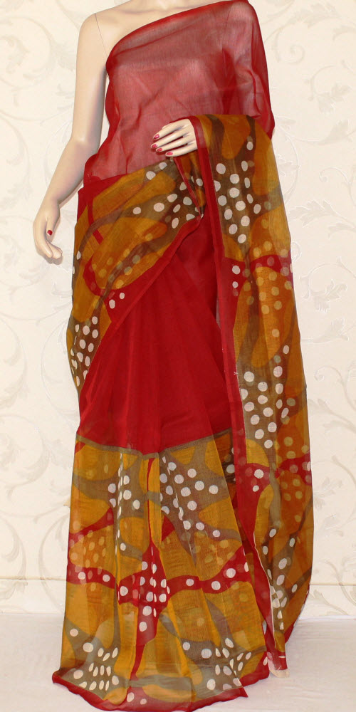 Exclusive Supernet Saree (Printed) 11900