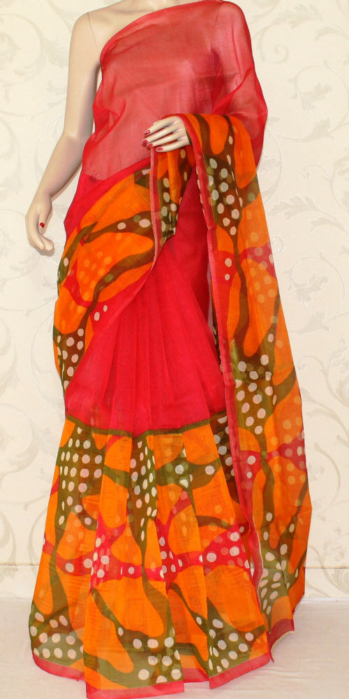 Exclusive Supernet Saree (Printed) 11901