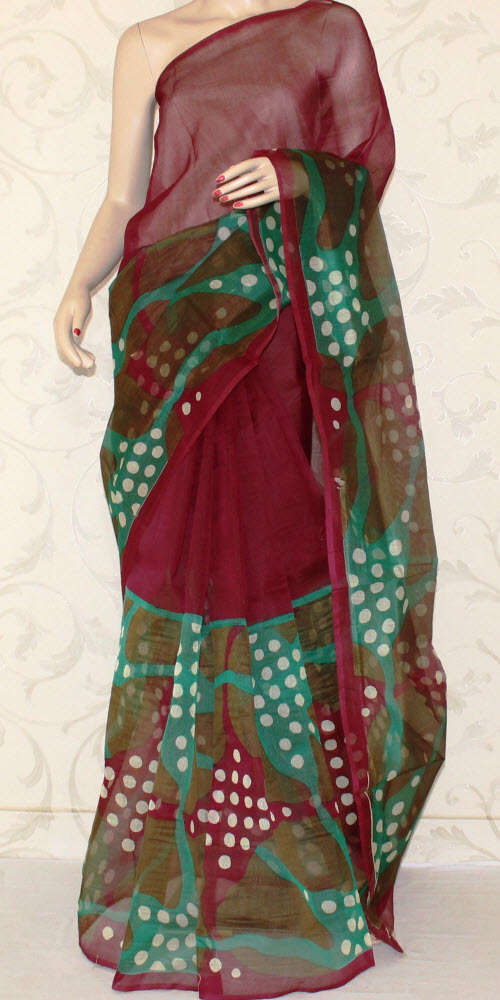 Exclusive Supernet Saree (Printed) 11902