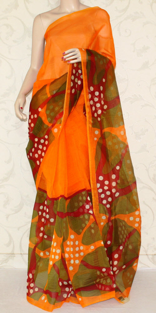 Exclusive Supernet Saree (Printed) 11903