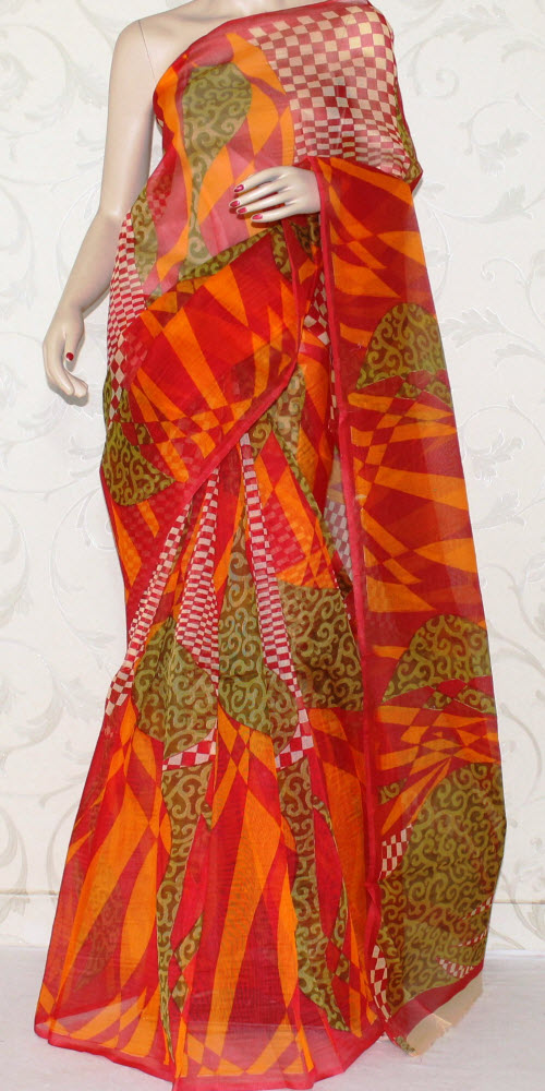Exclusive Supernet Saree (Printed) 12513
