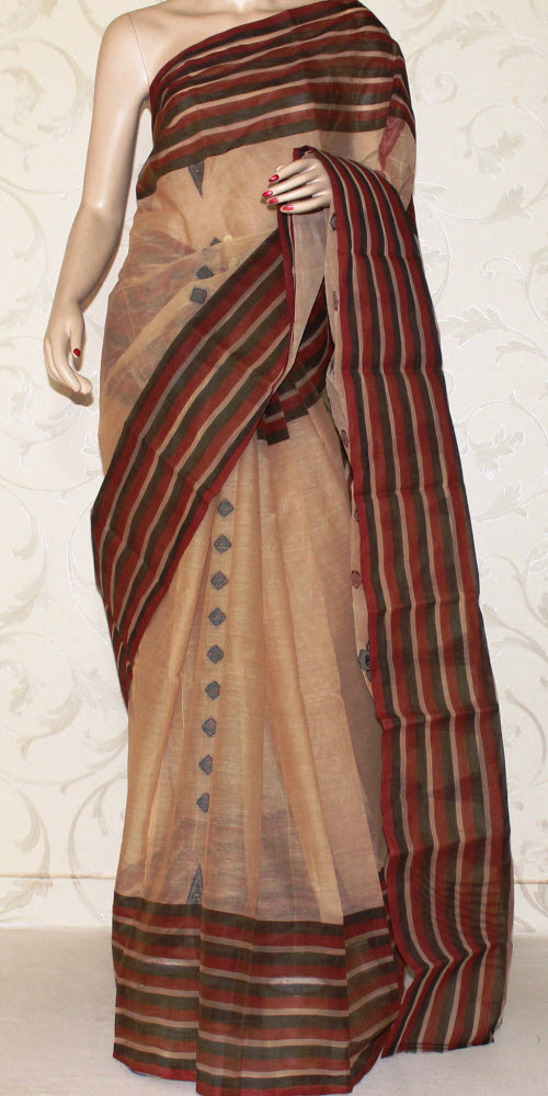 Bengal Handloom Tant Saree (cotton) 13156
