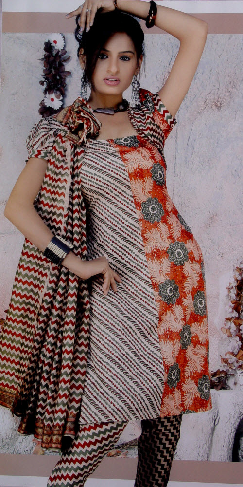 Designer Cotton Printed Suit Un-stitched 2935