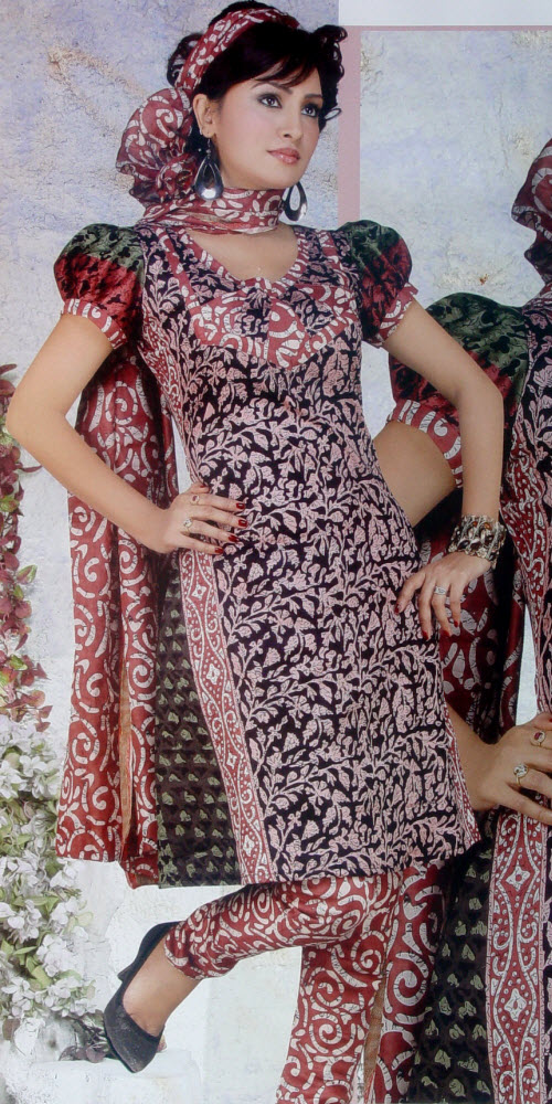 Designer Cotton Printed Suit Un-stitched 2941