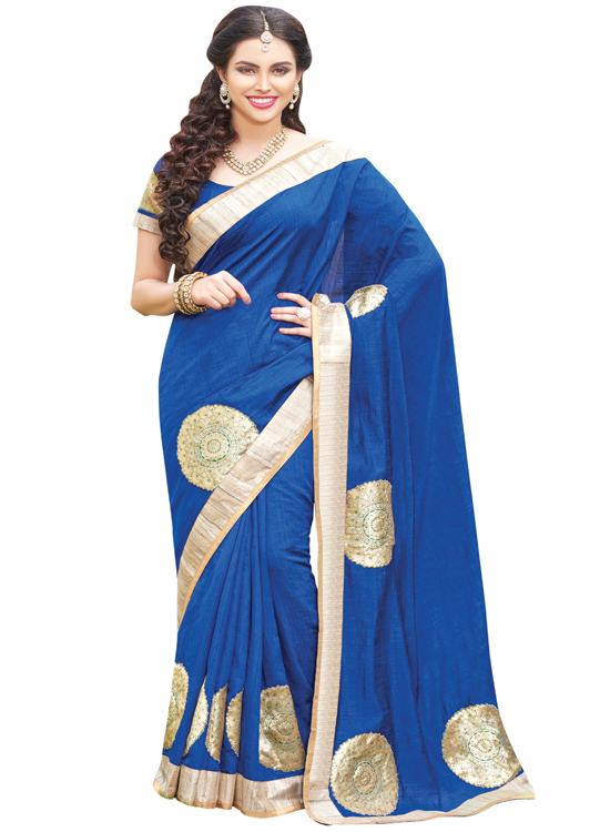 BLUE MUNGA KATIA SAREE  MC4500F104